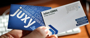 Carte de visite / business card juxy